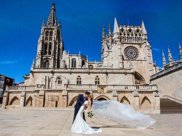 La boda de Álvaro y Laura en Burgos, Burgos 1