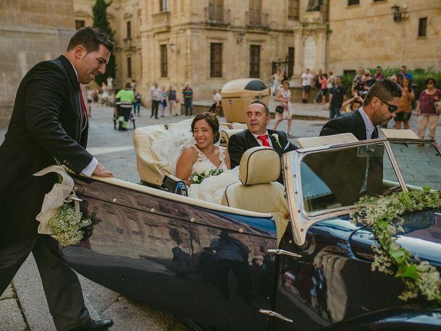 La boda de Alberto y Jeny en Salamanca, Salamanca 13