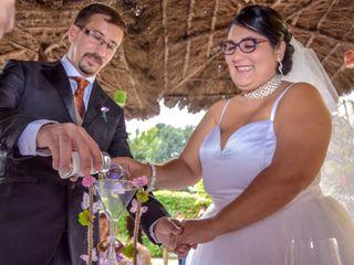 La boda de Rebeca y Ismael