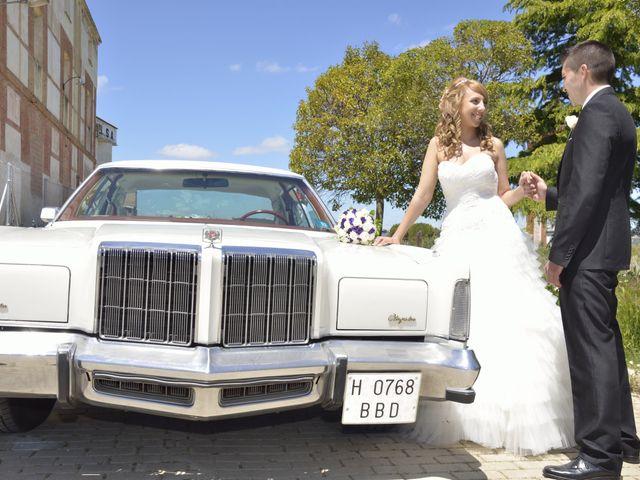 La boda de Maribel y Jose en Baños De Cerrato, Palencia 7