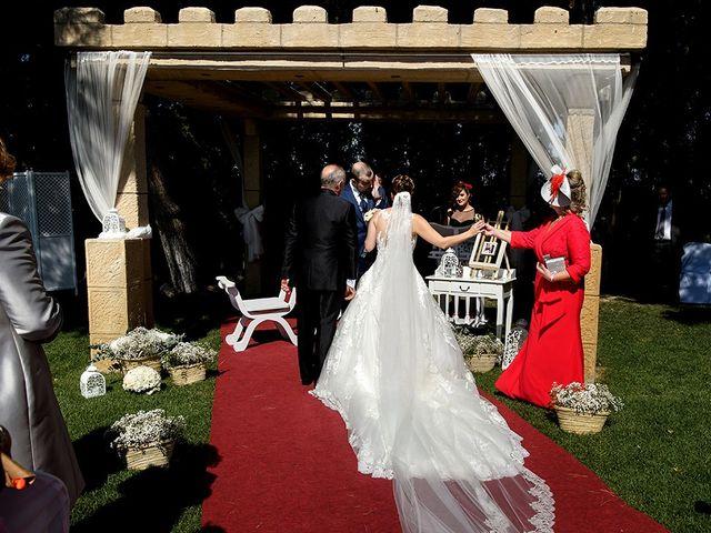 La boda de Rafael y Arantxa en Pedrola, Zaragoza 41