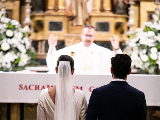 La boda de Nicolás y Natalia en Siguenza, Guadalajara 124
