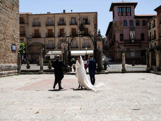 La boda de Nicolás y Natalia en Siguenza, Guadalajara 144