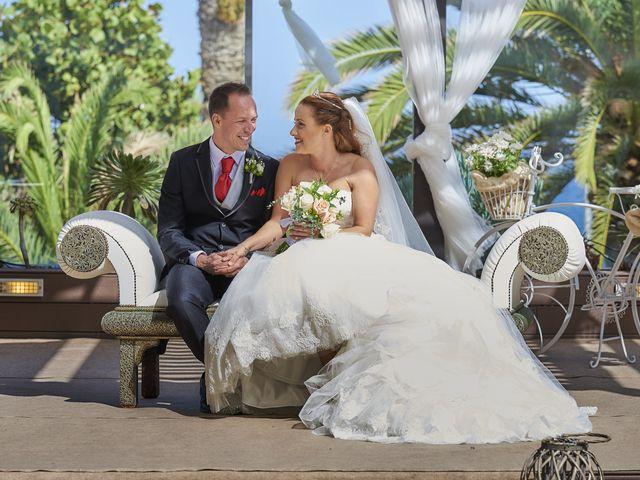 La boda de Carlos y Any en Puerto De La Cruz, Santa Cruz de Tenerife 1