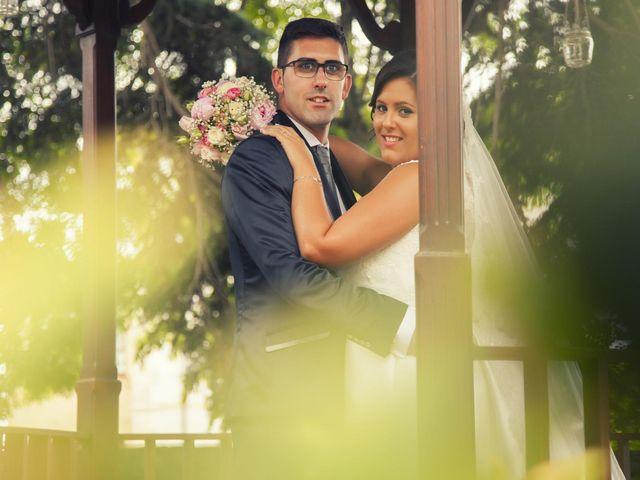 La boda de Alexandra y David