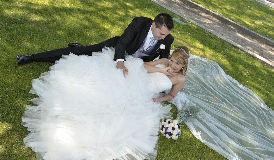 La boda de Maribel y Jose en Baños De Cerrato, Palencia