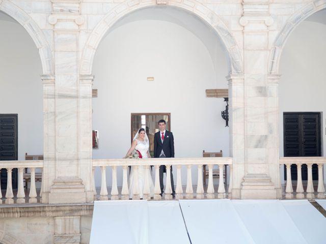 La boda de Jose y Sara en Valencia Del Ventoso, Badajoz 6