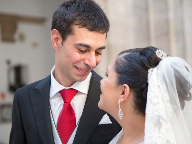 La boda de Jose y Sara en Valencia Del Ventoso, Badajoz 7