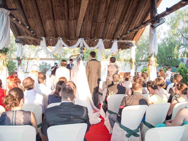 La boda de Jose y Sara en Valencia Del Ventoso, Badajoz 10