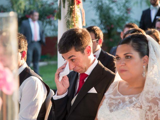La boda de Jose y Sara en Valencia Del Ventoso, Badajoz 11