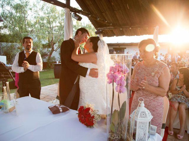 La boda de Jose y Sara en Valencia Del Ventoso, Badajoz 12