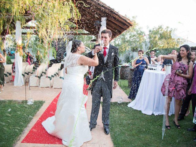 La boda de Jose y Sara en Valencia Del Ventoso, Badajoz 13