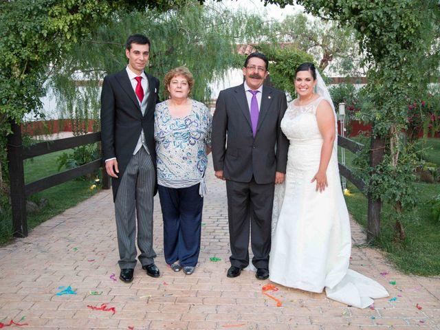 La boda de Jose y Sara en Valencia Del Ventoso, Badajoz 14