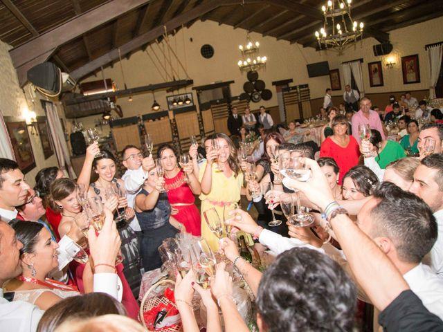 La boda de Jose y Sara en Valencia Del Ventoso, Badajoz 16