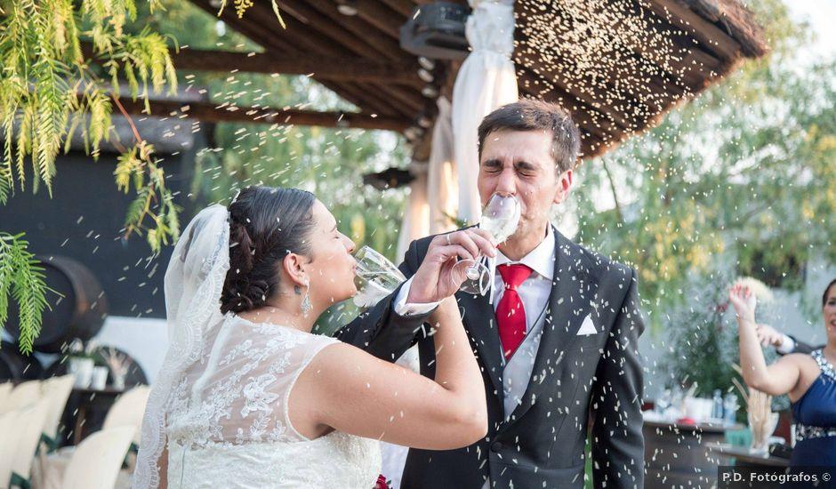 La boda de Jose y Sara en Valencia Del Ventoso, Badajoz
