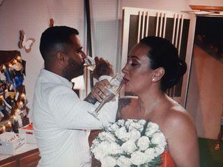 La boda de Aniaga  y Jonathan