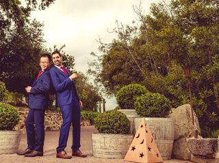 La boda de Jesse y Geoffrey