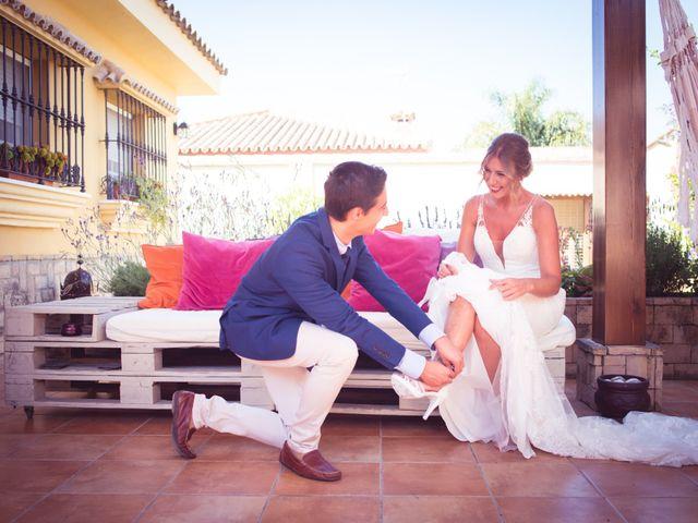 La boda de Abraham y Eva en El Cuervo, Sevilla 14