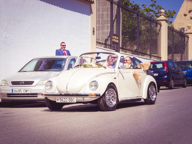 La boda de Abraham y Eva en El Cuervo, Sevilla 21