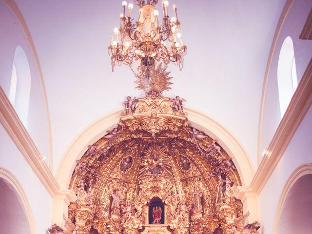 La boda de Abraham y Eva en El Cuervo, Sevilla 23