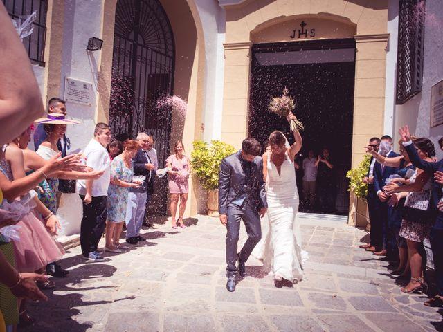 La boda de Abraham y Eva en El Cuervo, Sevilla 24