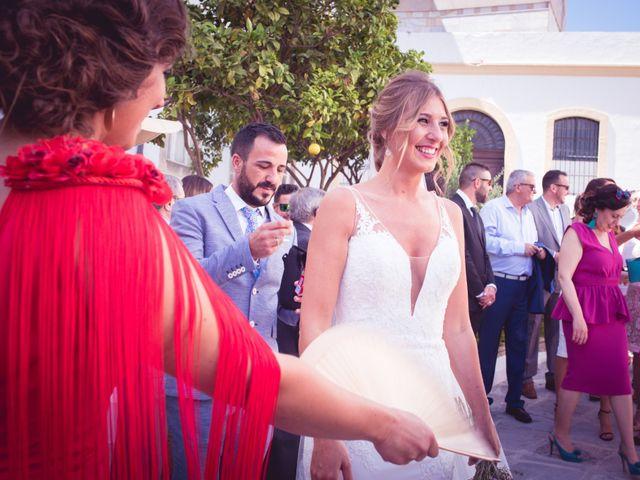 La boda de Abraham y Eva en El Cuervo, Sevilla 25