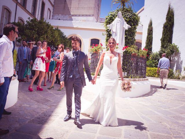 La boda de Abraham y Eva en El Cuervo, Sevilla 26
