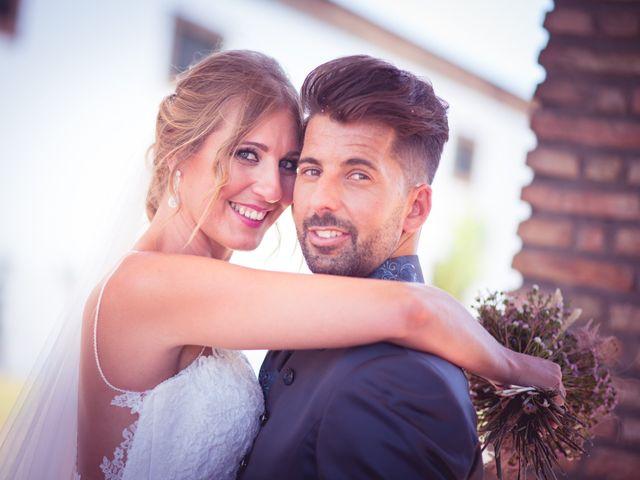 La boda de Abraham y Eva en El Cuervo, Sevilla 2