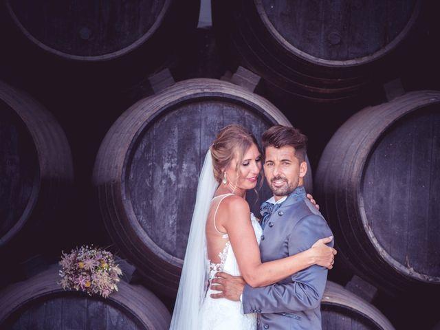 La boda de Abraham y Eva en El Cuervo, Sevilla 30