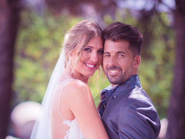 La boda de Abraham y Eva en El Cuervo, Sevilla 38