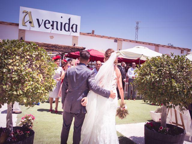 La boda de Abraham y Eva en El Cuervo, Sevilla 47