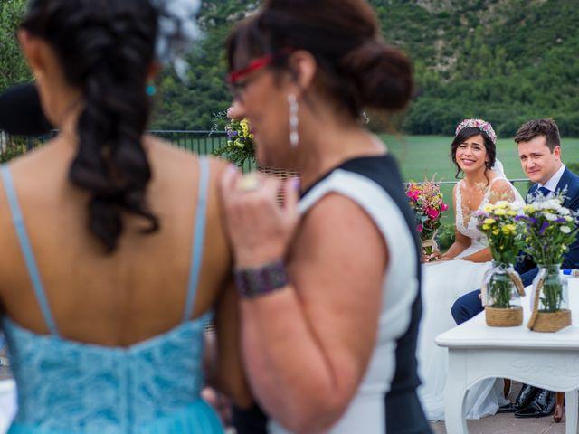 La boda de Carlos y Ximena en Ligüerre De Cinca, Huesca 15