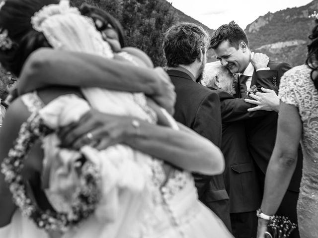 La boda de Carlos y Ximena en Ligüerre De Cinca, Huesca 18