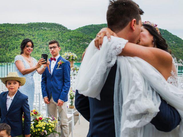 La boda de Carlos y Ximena en Ligüerre De Cinca, Huesca 21