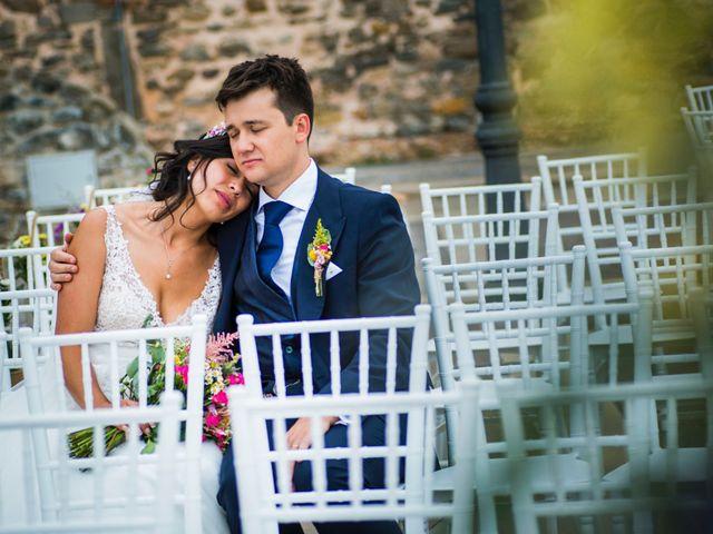 La boda de Carlos y Ximena en Ligüerre De Cinca, Huesca 1