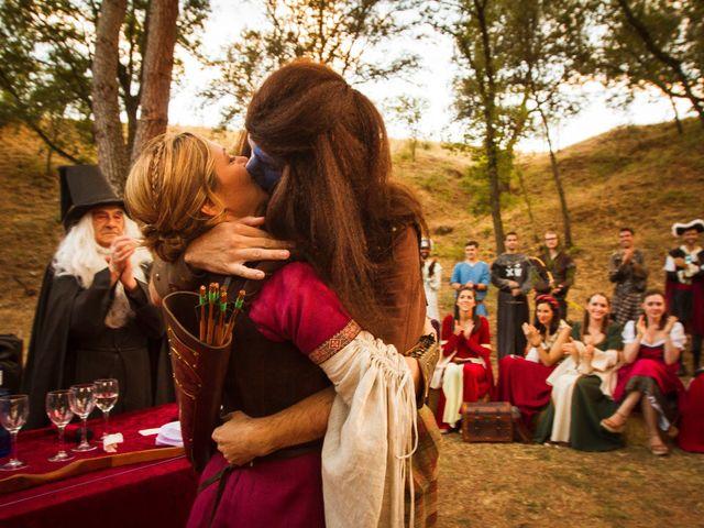 La boda de Aurora y Javier