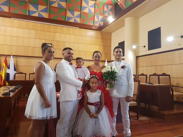 La boda de Jonathan  y Aniaga  en Candelaria, Santa Cruz de Tenerife 10