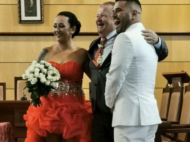 La boda de Jonathan  y Aniaga  en Candelaria, Santa Cruz de Tenerife 11