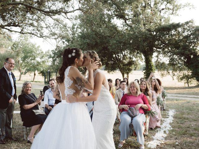 La boda de Cristina y Sonia en Pueblo Sant Andreu Salou, Girona 28