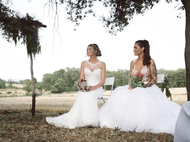 La boda de Cristina y Sonia en Pueblo Sant Andreu Salou, Girona 1