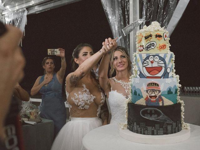 La boda de Cristina y Sonia en Pueblo Sant Andreu Salou, Girona 50