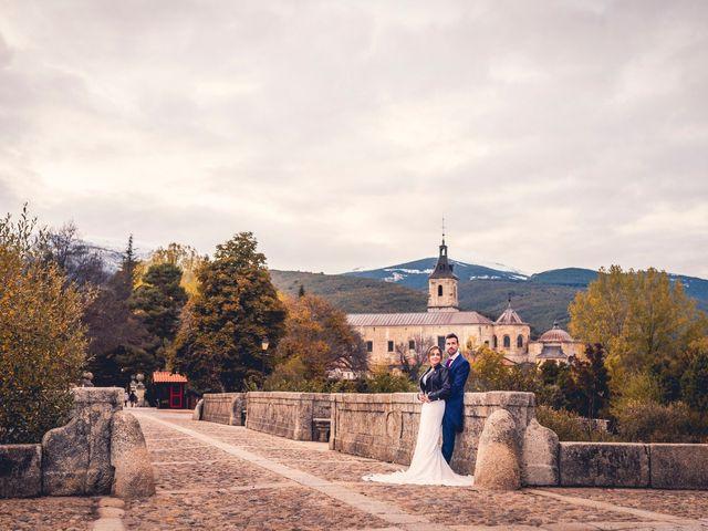 La boda de Javi y Laura en Miraflores De La Sierra, Madrid 92