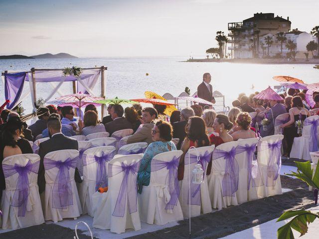 La boda de Jose María y Cintia en La Manga Del Mar Menor, Murcia 1