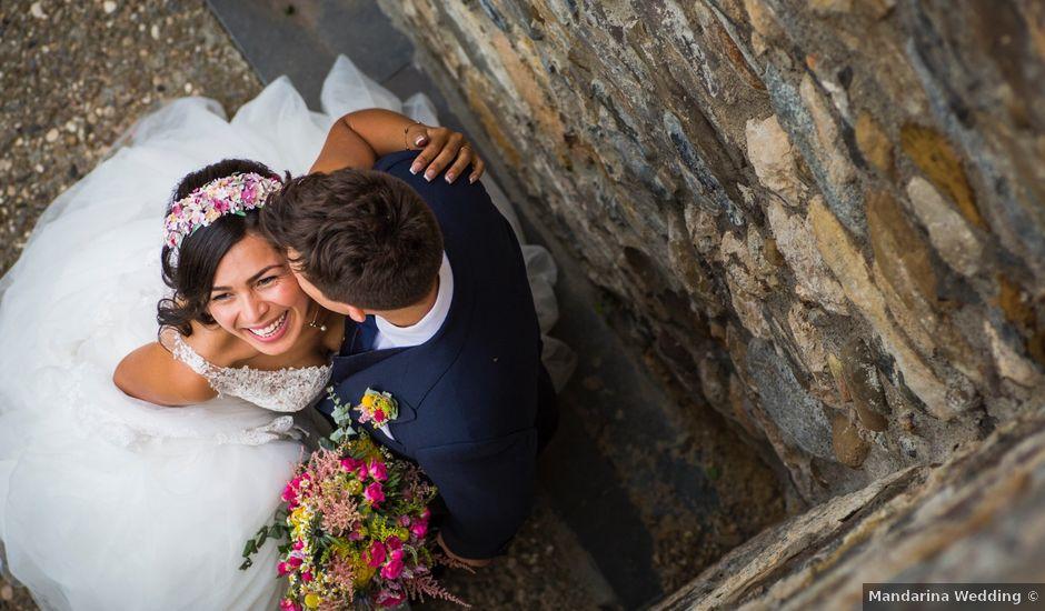 La boda de Carlos y Ximena en Ligüerre De Cinca, Huesca