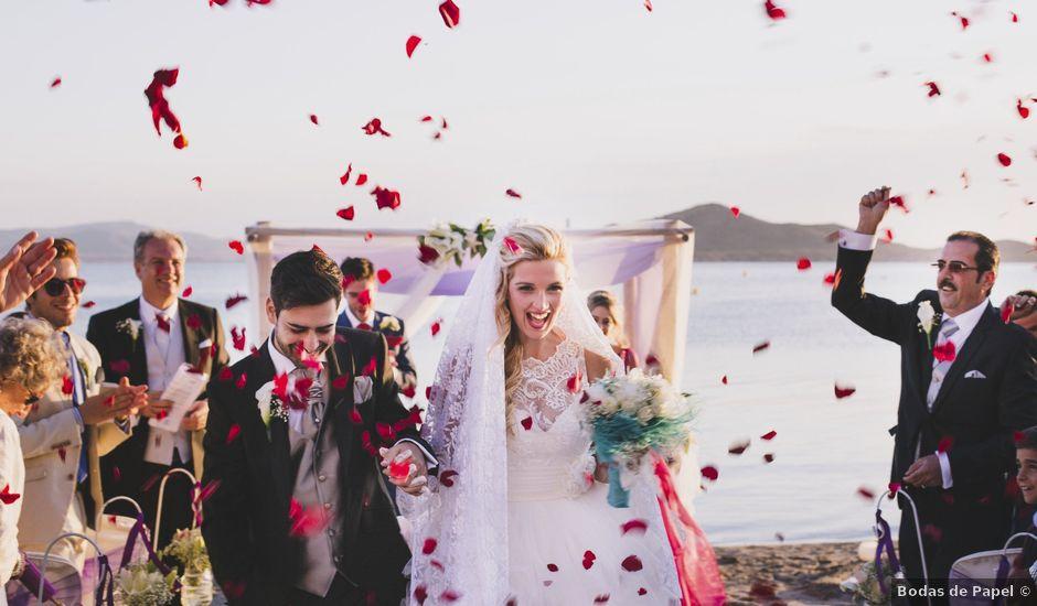 La boda de Jose María y Cintia en La Manga Del Mar Menor, Murcia