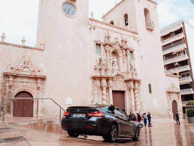 La boda de Fernando y Sandra en Alacant/alicante, Alicante 43