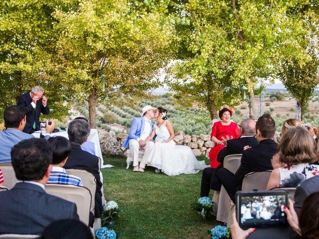 La boda de Adri y Rena en Salar, Granada 2