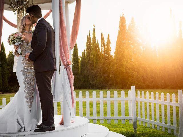 La boda de Andreea y Raiko