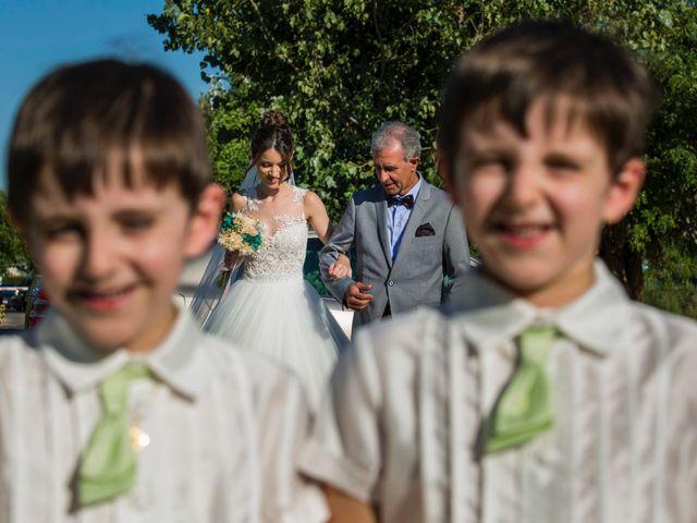 La boda de David y Elisabet en Zaragoza, Zaragoza 27