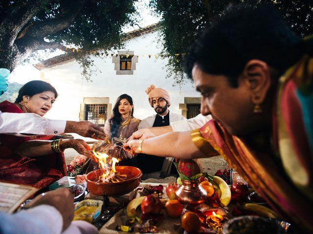 La boda de Snehal y Ankit